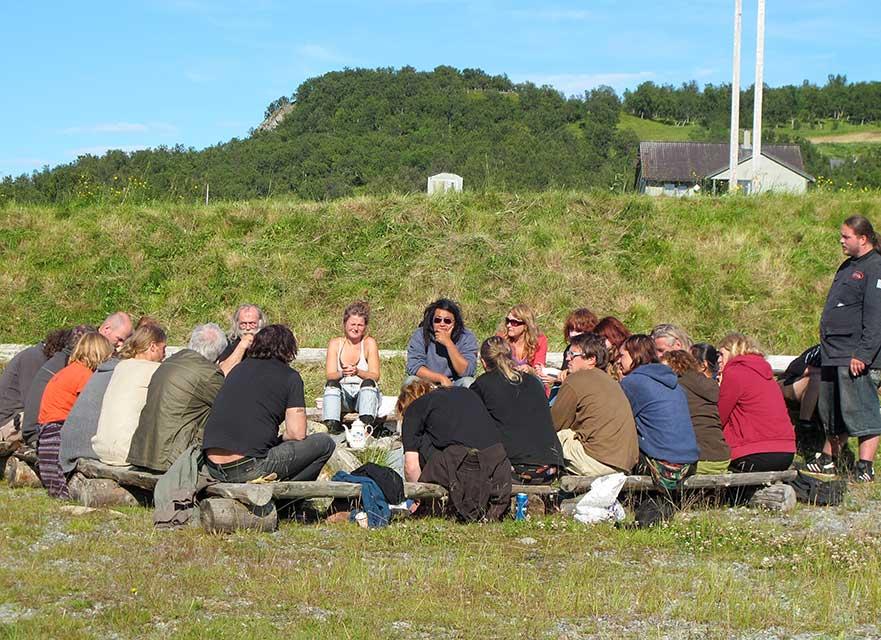 Konsensusmøte før festivalen