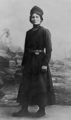 Sørsamen Elsa Laula Renberg var initiativtakeren til det første samiske landsmøtet i 1917.