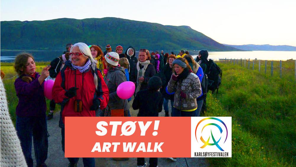 ART WALK MED STØY!
